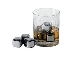 Whiskey stenen in Kubus