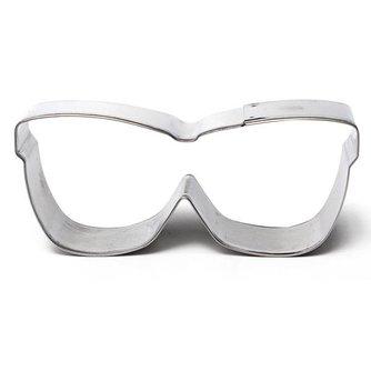 Brilvormige Snijvorm Voor Cake