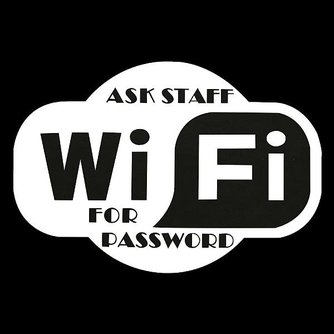 WiFi Sticker voor Horeca
