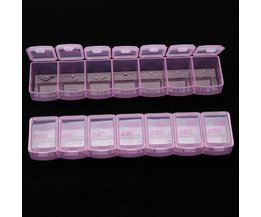 Plastic Medicijndoos 2 Stuks