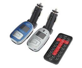 Auto MP3 FM Transmitter CG-002 met Afstandsbediening
