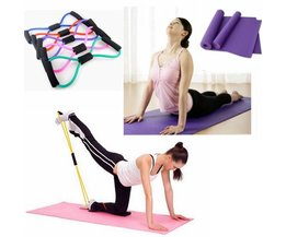 Flexibele Yogaband en Slijtvaste Yogamat
