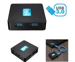 4 Poorts USB 3.0 Hub 5Gbps