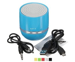 Portable Mini Bluetooth Speakers met LED