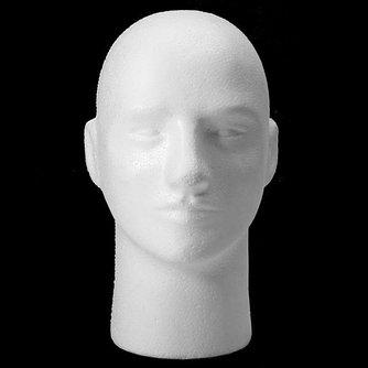 Piepschuim Hoofd Mannelijk Model