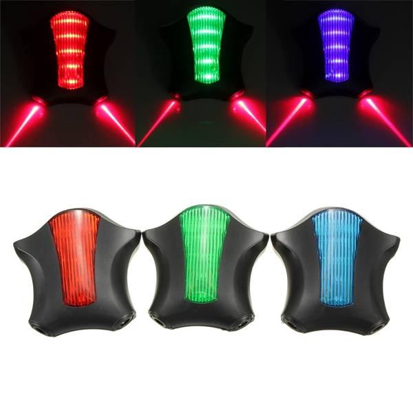 5 LED-2 Laser Achterlicht Elektrische Fiets