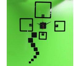 Doe-het-zelf Klok Sticker