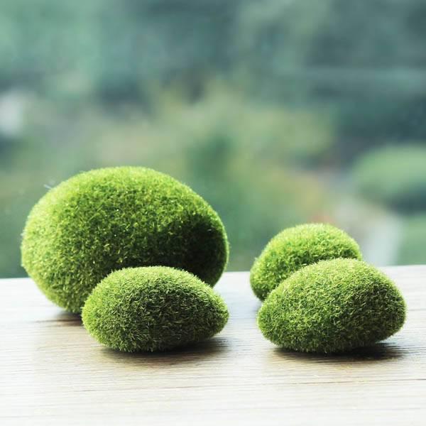 Tuin decoratie mos steen kopen i myxlshop for Decoratie vlinders voor in de tuin