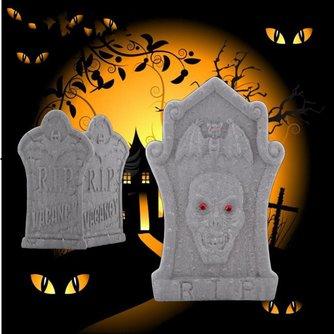 Grafsteen voor Halloween