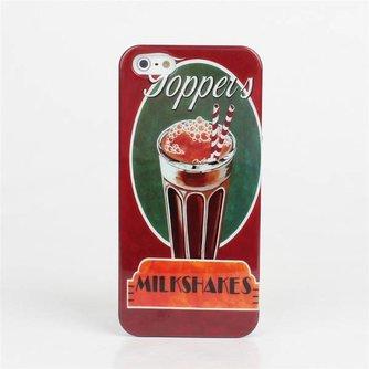 Hoesje voor iPhone 5 met Milkshake Print