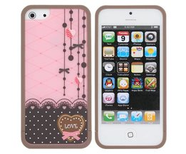Roze iPhone 5 Cover