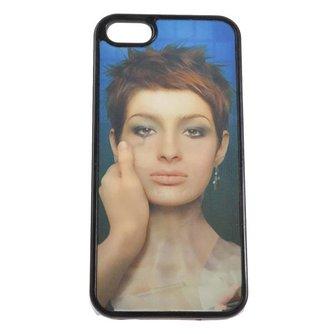 Hoesje voor iPhone 5 & 5S 3D Vrouw