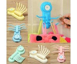 Plastic Haakjes met Zuignap