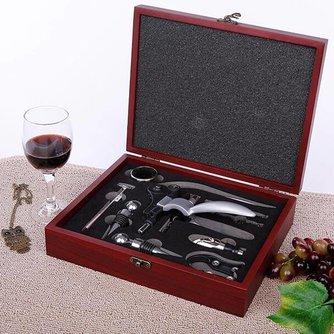 Wijnflesopener Met Benodigdheden
