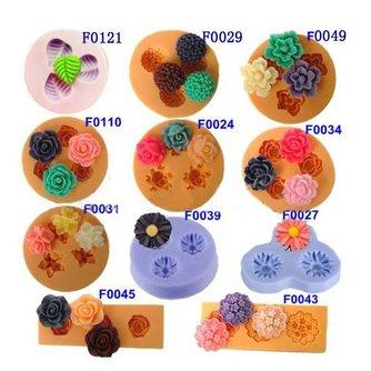 3D Cakevorm met Bloemen