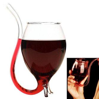 Vampier Wijnglas van Borosilicaatglas