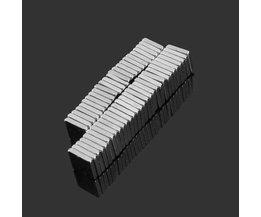 Vierkante Magneten N35