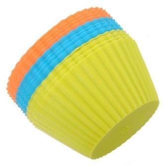 Siliconen Cupcakevorm (12 Stuks)