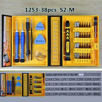 K-Tools Set Schroevendraaiers 38 Stuks