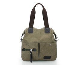 Ekphero Heren/Dames Canvas Handtas