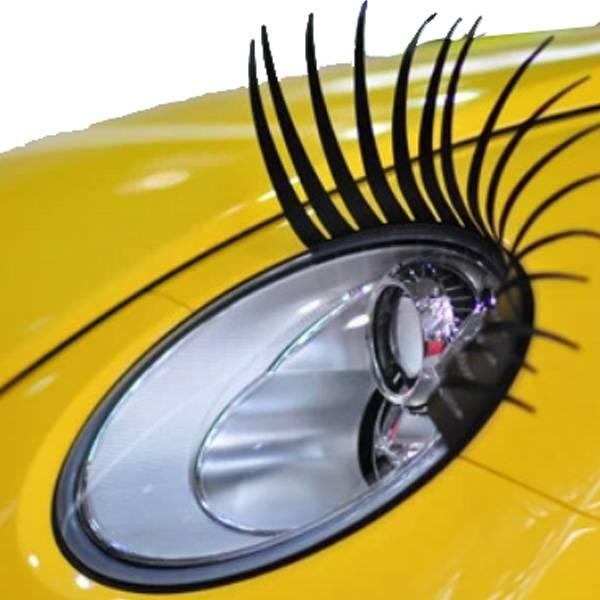 wimpers voor auto koplampen 3d zwart 2 stuks i myxlshop. Black Bedroom Furniture Sets. Home Design Ideas