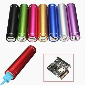 Portable USB Powerbank DIY Set