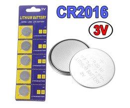 CR2016 Batterij 5 Stuks
