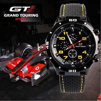 Zwarte Grand Touring Sporthorloges