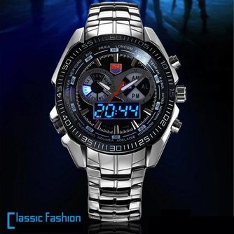 Horloge Voor Mannen RVS