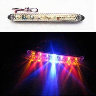 LED Remlicht voor oa de Motor met Kleuren Rood, Geel en Blauw