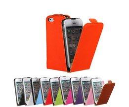 Magnetische Flip Cover iPhone 5