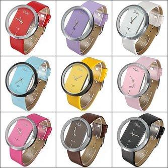 Goedkoop Horloge Met Transparant Display