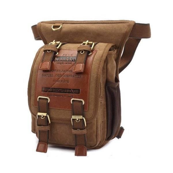 Tas Heren Hip : Multifunctionele canvas tas voor heren kopen i