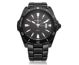 Zwart Horloge Van CURREN