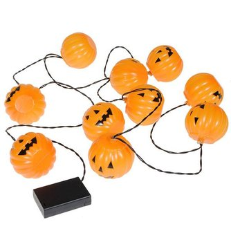 Halloween Verlichting Pompoen Lichtslinger