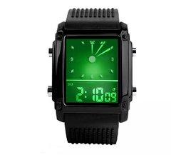 Vierkant Unisex Horloge