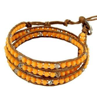 Kralen Armbanden In Vijf Kleuren