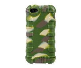Camouflage Hoesje Voor Iphone 5 & 5S