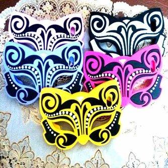 Vlindermasker Hoesjes voor iPhone 5 & 5S