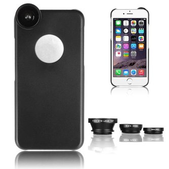 Camerahoes 3 in 1 voor iPhone 6 Plus