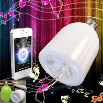 Bluetooth Speaker Lamp E27
