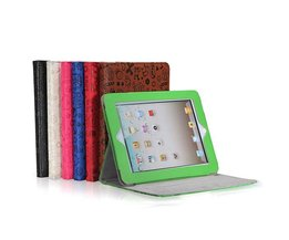 Hoes met steun voor iPad 1