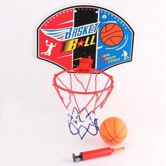 Mini Basket Met Bal En Pomp