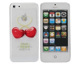 Hoesjes voor iPhone 5C met Hartjesdesign
