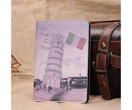 Hoes voor iPad Mini met Toren van Pisa-design