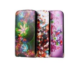Hoes voor iPhone 5 & 5S met Bloemen-design