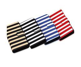 Hoesje voor iPhone 5C met Zebrastrepen