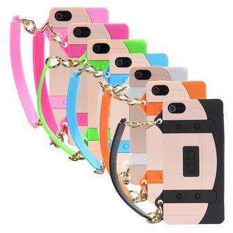 Telefoonhoesje voor iPhone 5 met Armbandje