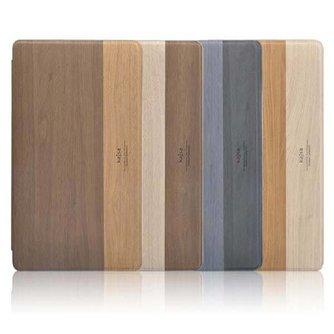 Kajsa  Hoezen voor iPad Air met Houtdesign