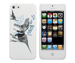 Telefoonhoes voor iPhone 5 met Dinosaurus-design